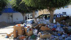 Des habitants à Djerba protestent contre le dépôt anarchique des