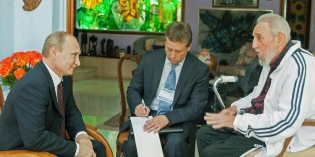 Poutine à Cuba, première étape de sa tournée