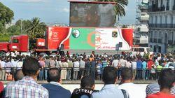 Le match Belgique-Algérie en direct de la Grande Poste à