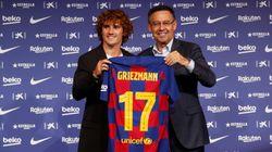 그리즈만 사전접촉 혐의 FC바르셀로나에 선고된 벌금 :