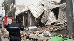 Effondrement d'un dépôt à Alger: Une femme de 78 ans