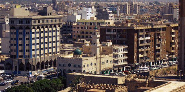 Tripoli en Libye vu d'en