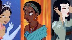Les héroïnes Disney changent de (couleur de)