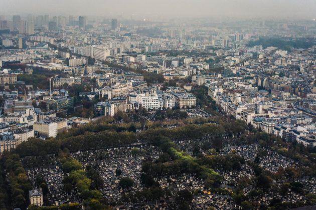 Le cimetière du Montparnasse dans le 14e arrondissement de