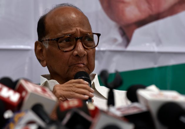 CP leader Sharad Pawar during press conference at Y.B.Chavan Center, Nariman Point on September 25, 2019...