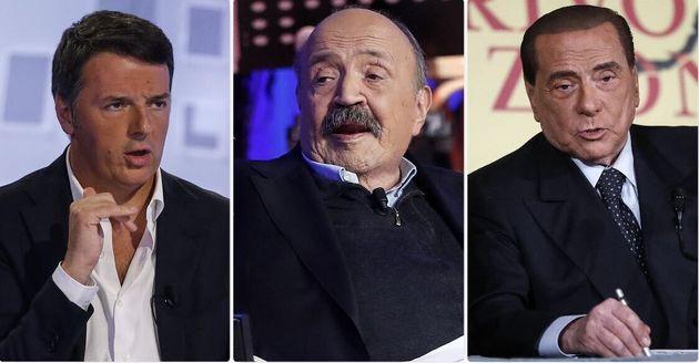 Matteo Renzi, Maurizio Costanzo, Silvio