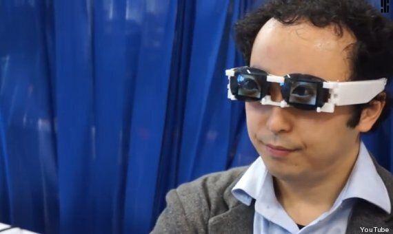 Des lunettes-écrans pour contrefaire les émotions du regard inventées au Japon