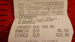 430 euro per due piatti di spaghetti e un'acqua: conto shock per turiste giapponesi a