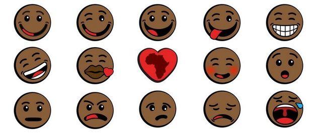 Découvrez les premiers émoticônes africains