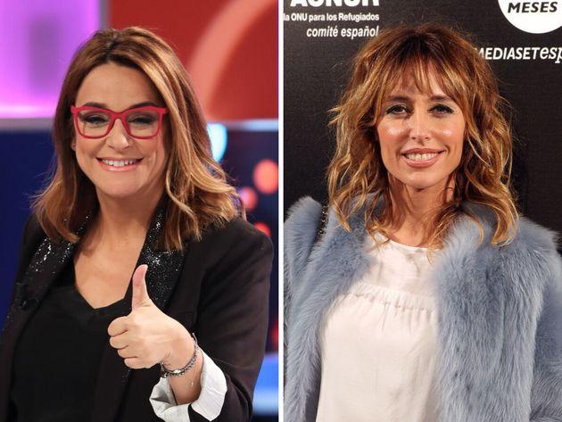 Las presentadoras Toñi Moreno y Emma