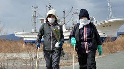 Trois ans après le tsunami: les vents du non