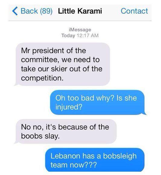 Des internautes se mobilisent pour soutenir une skieuse libanaise, critiquée pour ses photos seins