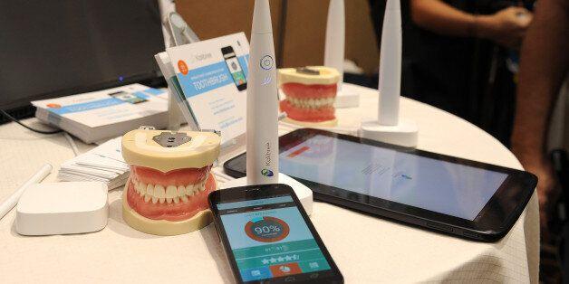 Les fameuses brosses à dents connectées, présentées au CES