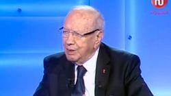 Quand Béji Caïed Essebsi nie
