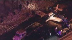New-York: Un petit avion se pose sur une autoroute du Bronx