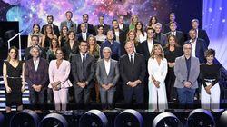 La pregunta que muchos se hacen por lo que se ve en esta foto de familia de Mediaset: salta a la