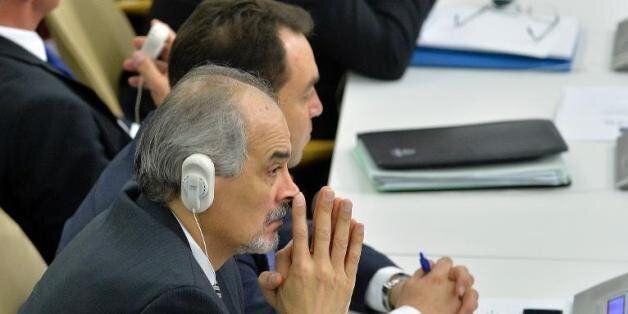 Bachar Jaafari, l'ambassadeur syrien à