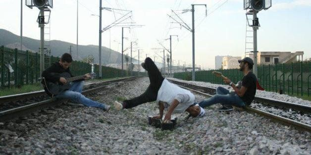 Gadour Ben Hassen (au centre de l'image) danseur de Hip Hop sera là pour encadrer les jeunes et faire...