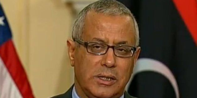 Le Premier ministre libyen Ali