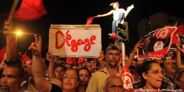 Manifestation de l'opposition au Bardo - 6 août