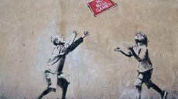 Voler un bout de mur... et le Banksy qui va