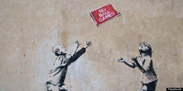 Un graffiti de Banksy a été volé à Londres