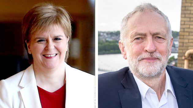 SNP Backs Jeremy Corbyn As Caretaker PM To Swerve No-Deal Brexit