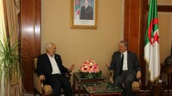 Rached Ghannouchi rencontre le Président algérien Abdelaziz