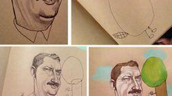 Une artiste collabore avec sa fille de 4 ans et leurs dessins sont