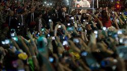 Deux millions de personnes pour le Pape à