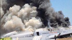 Le Crash d'un avion à San Francisco fait 2 morts et 182