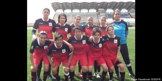 Sana Yaakoubi la perle du football féminin en