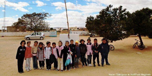 Les enfants de Sidi Bouzid et du Kef gardent le sourire, malgré des conditions souvent