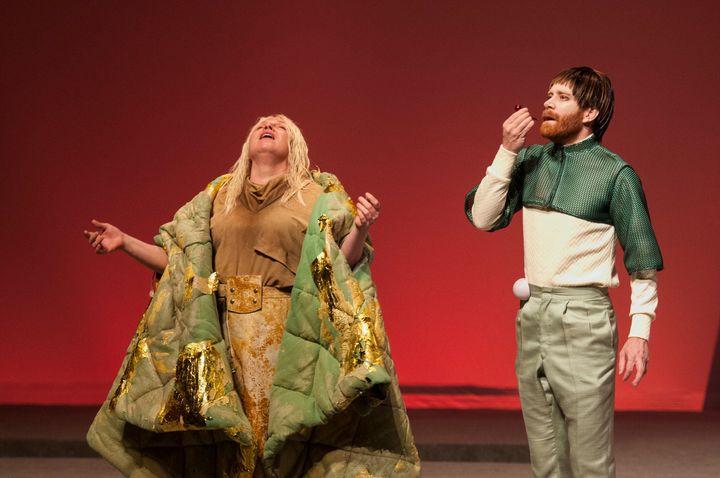 La pièce «Le meilleur des mondes», une adaptation du roman d'Aldous Huxley, est présentée au Théâtre Denise-Pelletier jusqu'au 19 octobre.