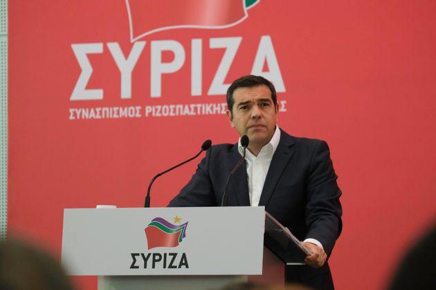 Επίθεση του Αλέξη Τσίπρα στον πρωθυπουργό στην ομιλία του στην Κεντρική Επιτροπή του