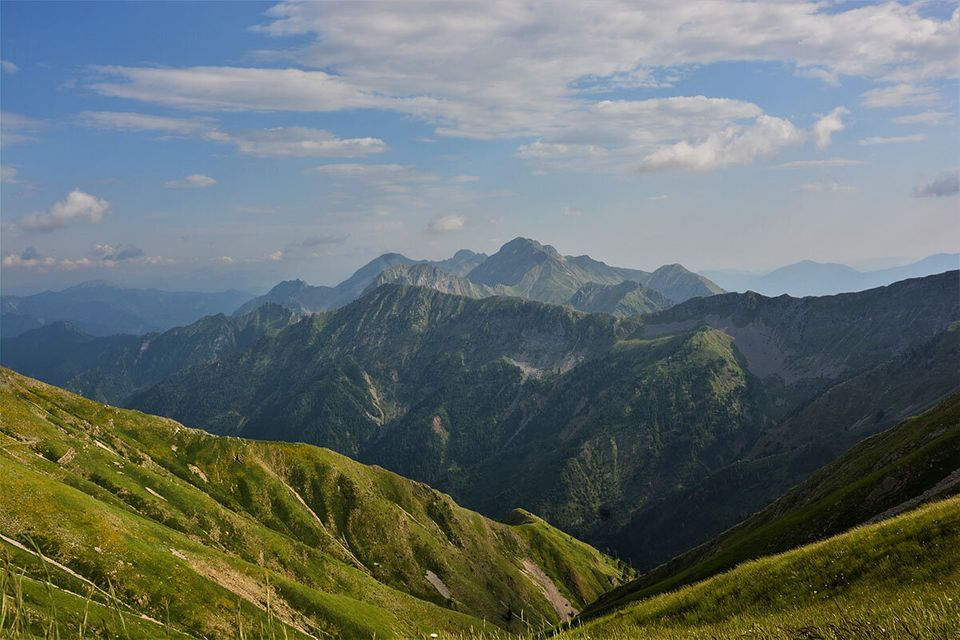 Τμήμα της οροσειράς...