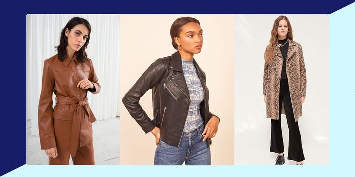 Faux leather jackets look better than ever and have become a great alternative to the real deal.