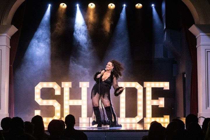 Anasimone George is the founder of SHADE, a comedy-based variety show for performers who are LGBTQ, women, and/or people of colour.