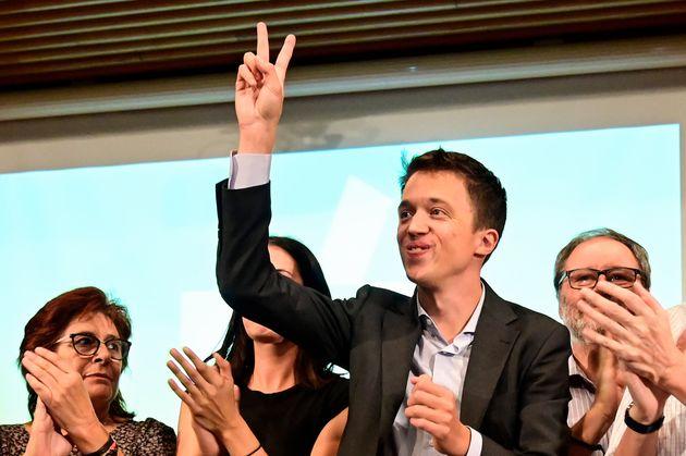El líder de Más País, Íñigo Errejón, en la presentación...