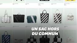 Ce sac coûte plus de 1500 euros, mais on ne peut rien mettre