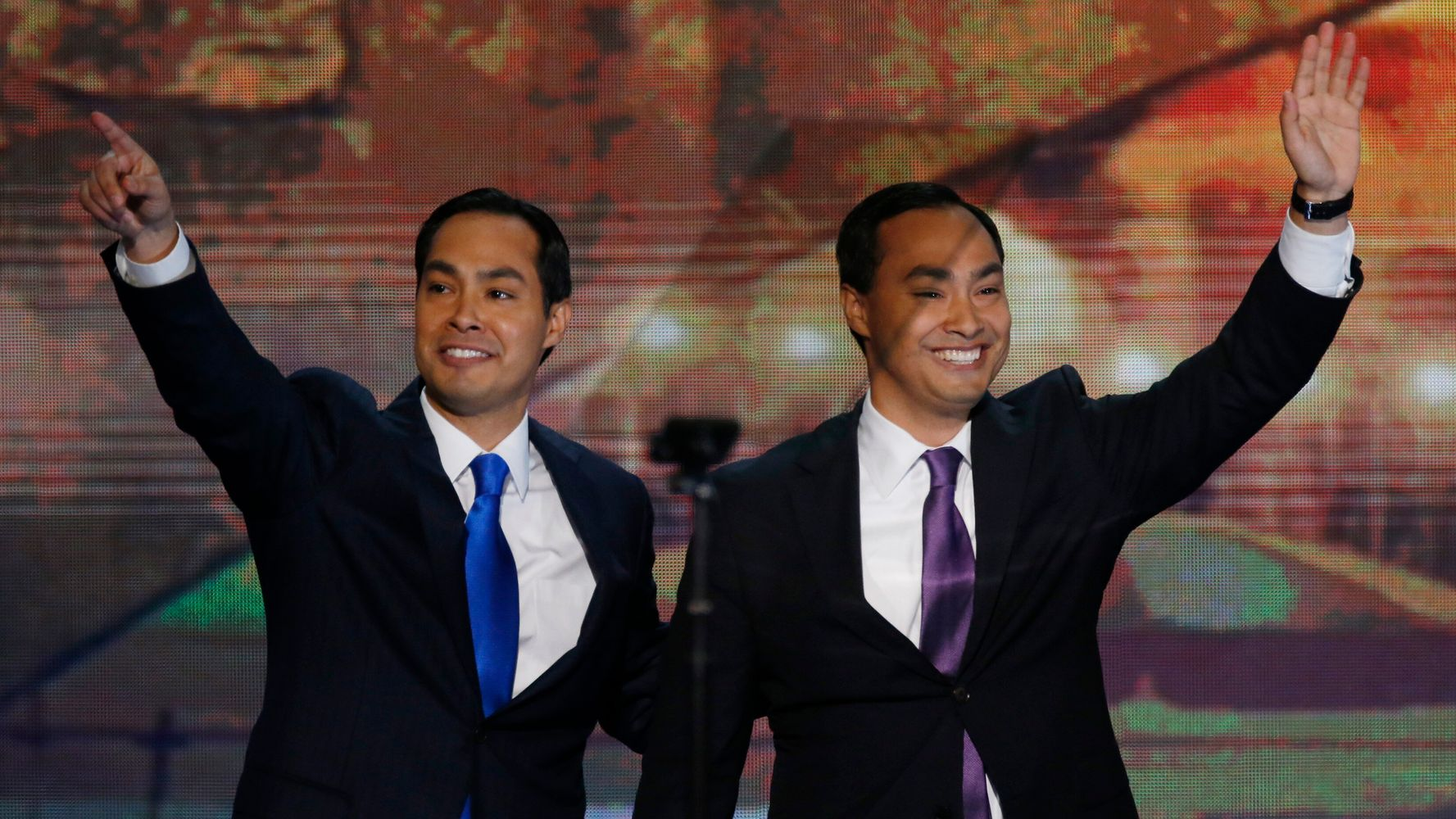 Westlake Legal Group 5d8e4e4221000034005fdf54 Joaquin Castro Shades MSNBC For Confusing Him With Twin Brother Julián Castro