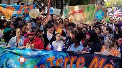Marche pour le climat: un océan pour influencer les