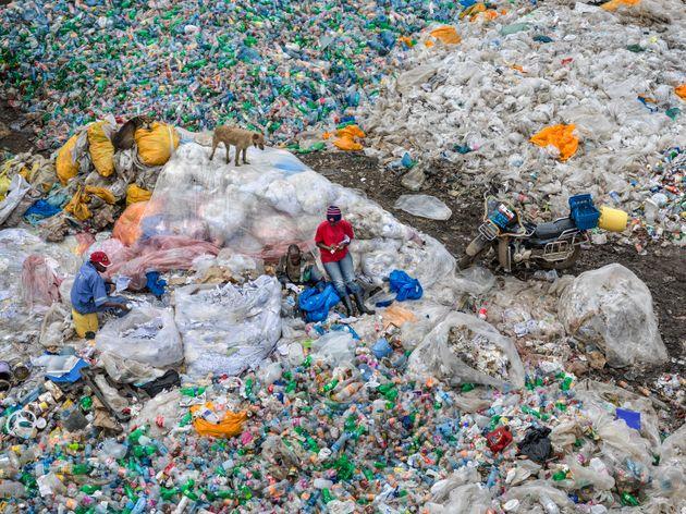 Dandora Landfill #3, Plastics Recycling, Nairobi,