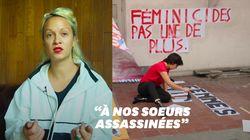 Reportage au coeur de la fabrication des affiches anti-féminicides à