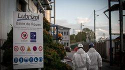 Les dirigeants de l'usine Lubrizol à Rouen