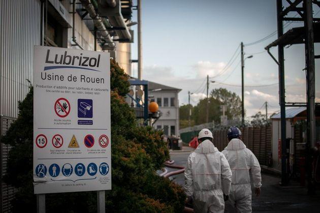 Les patrons de l'usine Lubrizol à Rouen