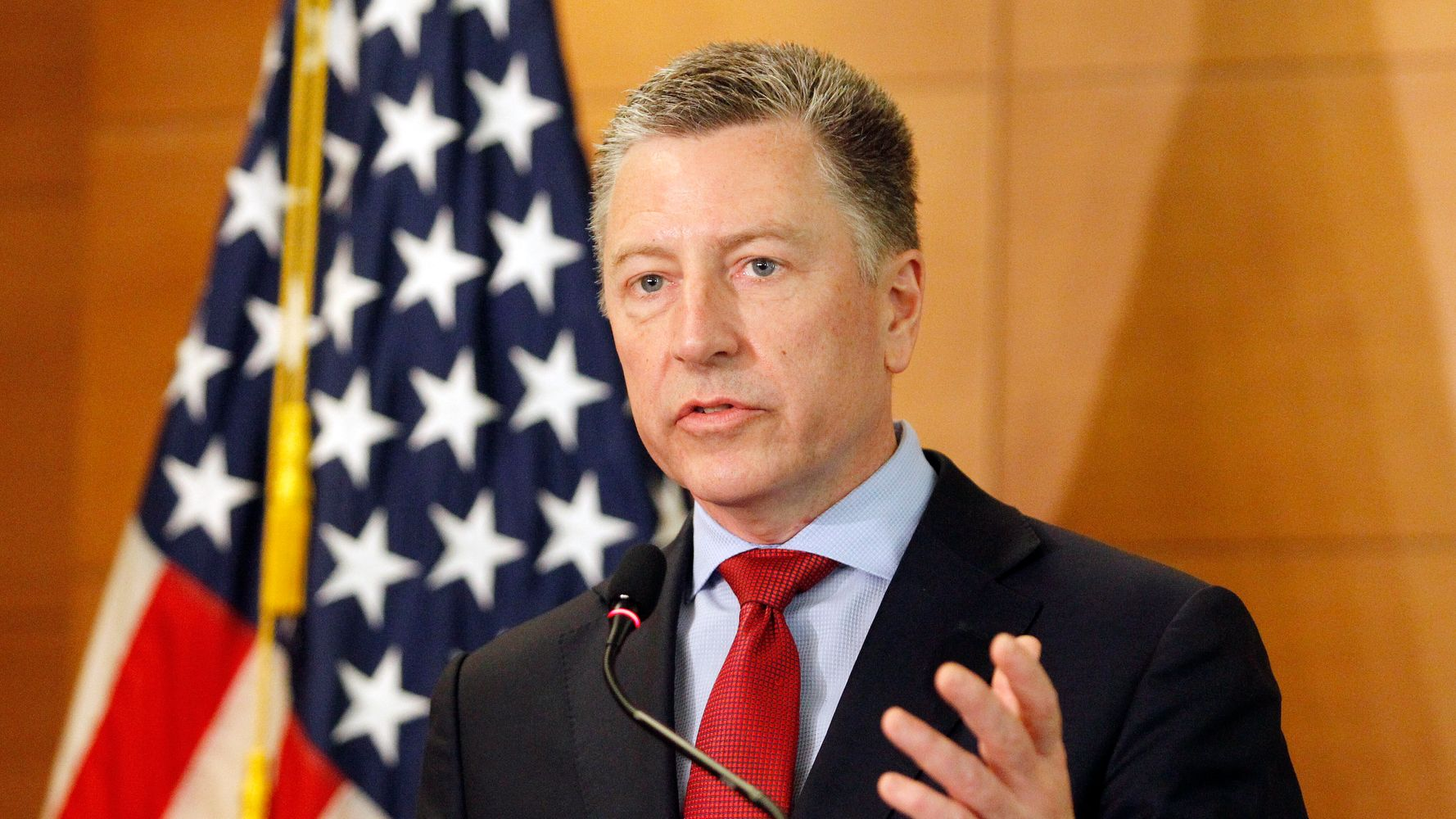 Kurt Volker, U.S. Envoy To Ukraine, Steps Down Amid Whistleblower Scandal