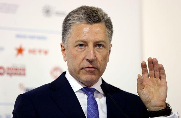 Kurt Volker, émissaire des États-Unis en Ukraine, ici en septembre 2018, a démissionné...