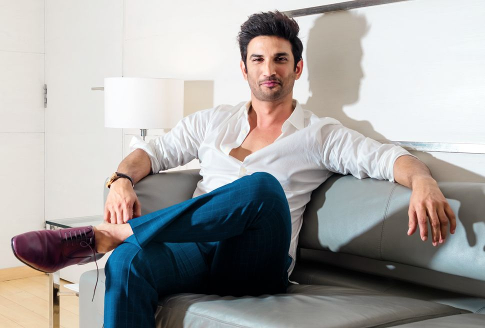 NEW DELHI, INDIA - MAY 25: (Editors Note: This is an exclusive shoot of Hindustan Times) Bollywood actor Sushant Singh Rajput during an interview on May 25, 2018 in New Delhi, India. (Photo by Sarang Gupta/Hindustan Times via Getty Images)