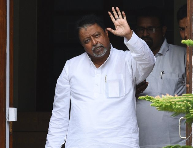 Mukul Roy in a file